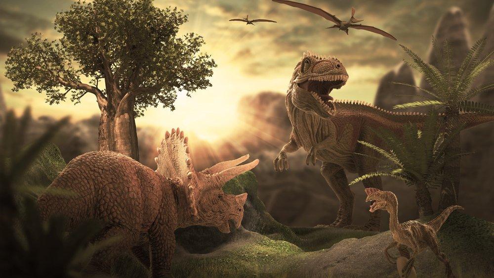 Dinosaurernes verden var helt anderledes end den verden, vi kender i dag.