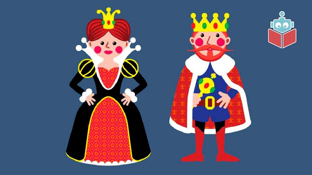 Der er kineserlyd i både dronning og konge. Det er bogstaverne -ng, der siger lyden.