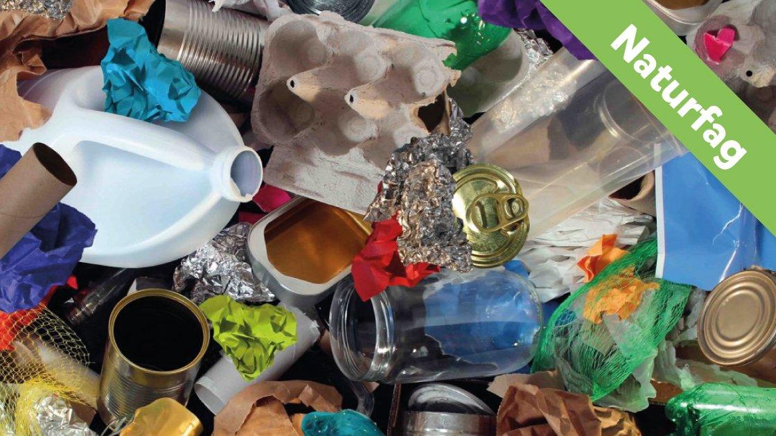 Der er mange slags affald.