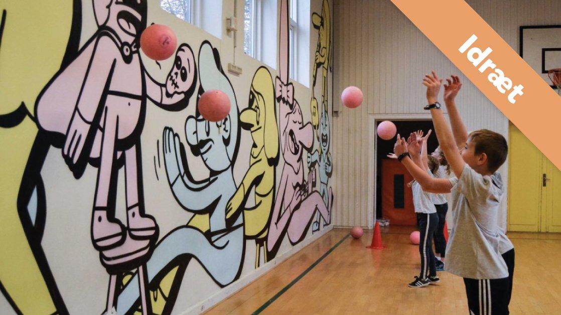 Lær en masse boldlege.