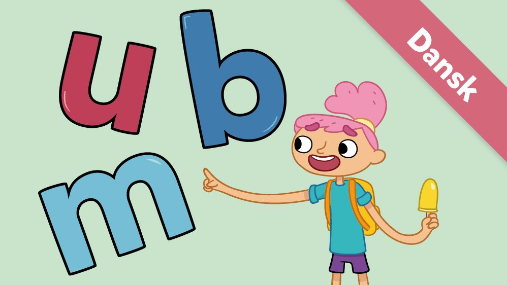Her er Ea med bogstaverne m, u og b.
