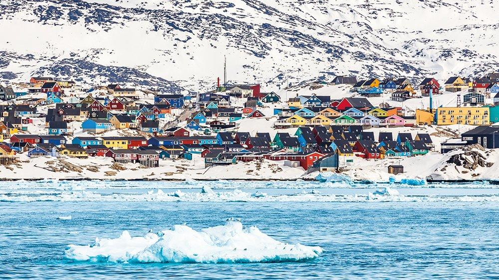 Drivis i Grønland