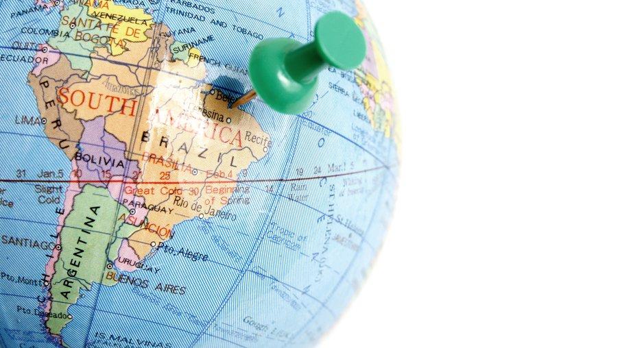 Sydamerika.