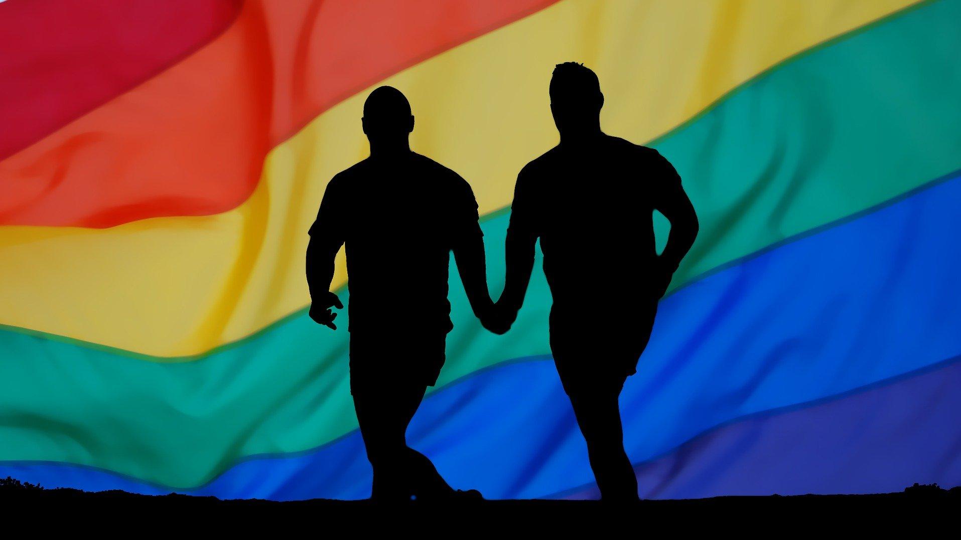 Homosexualität bezeichnet die Liebe zwischen zwei Personen des gleichen Geschlechtes.