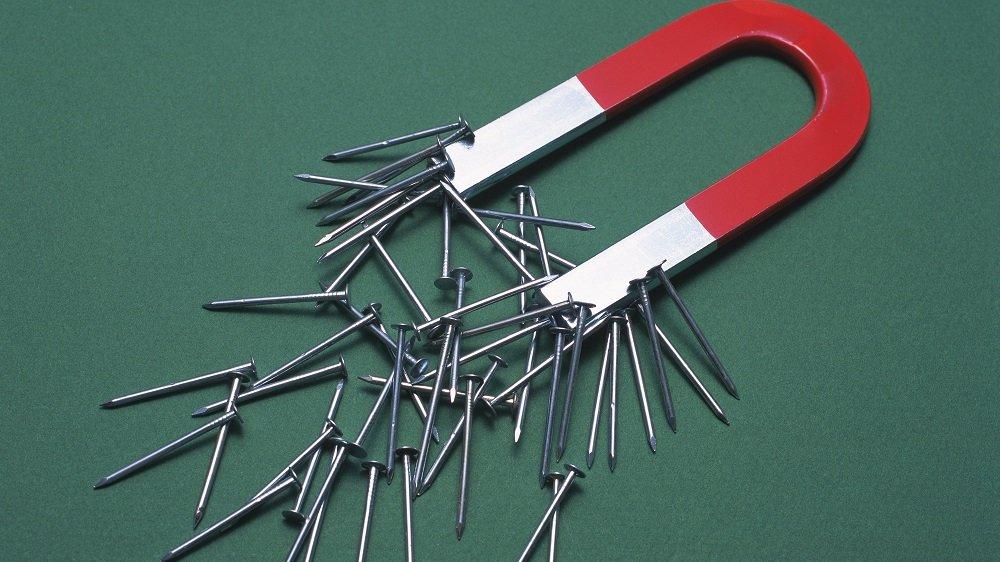 Magneter kan have mange former, men de tiltrækker alle sammen jernsøm.