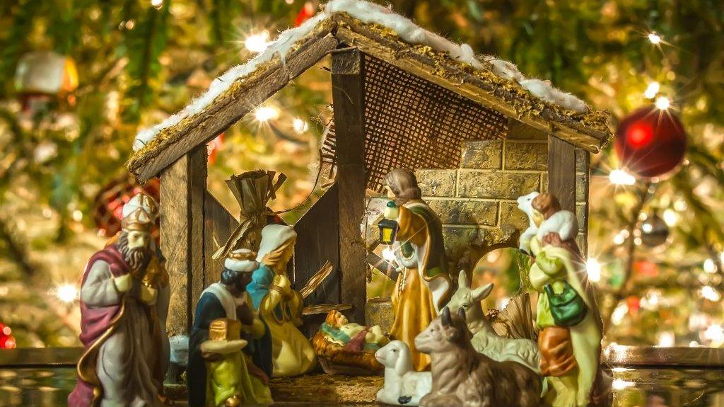De kristne fejrer jul, fordi Jesus blev født.