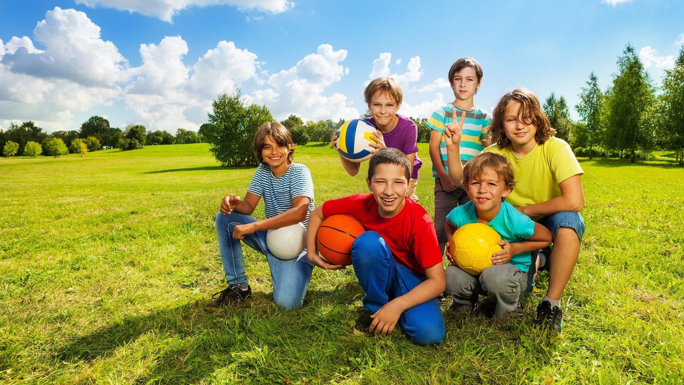 Er du klar til at spille bold?