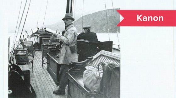 Johannes Vilhelm Jensen rejste hele sit liv for at opleve verden.