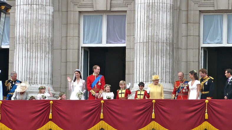 Prince William and Kate Middleton's wedding in 2011.