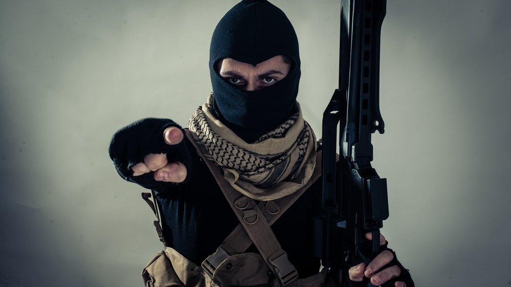 Die meisten Terroristen versuchen anonym aufzutreten.
