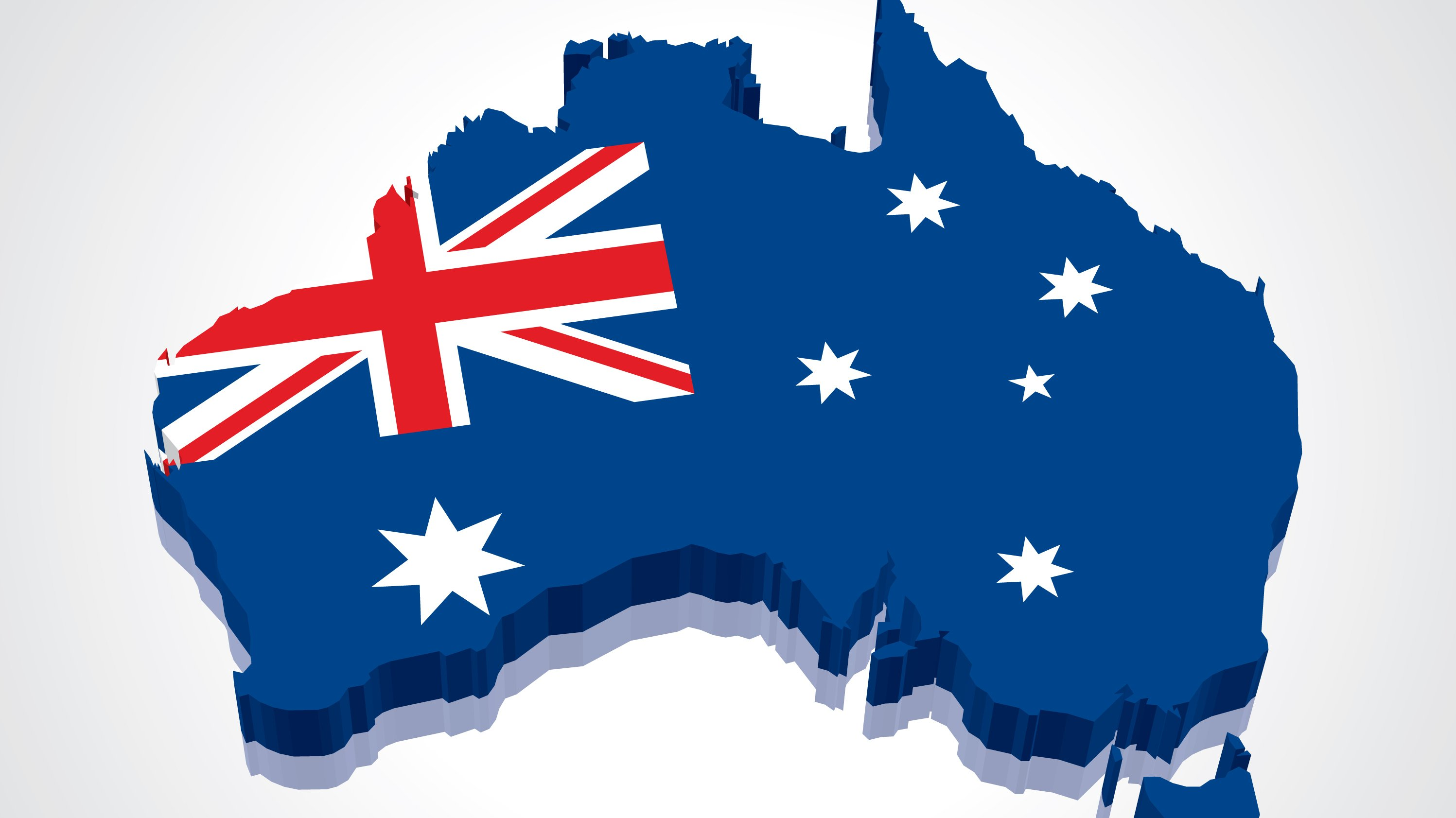 This is Australia. It is a very, very large country.
