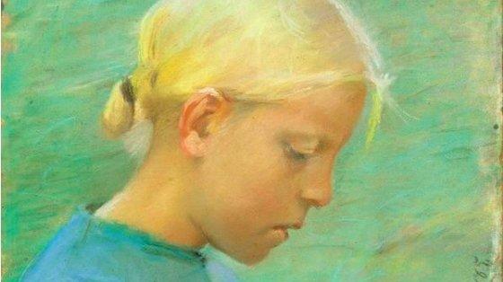 Billedet er lavet af Anna Ancher i 1885.