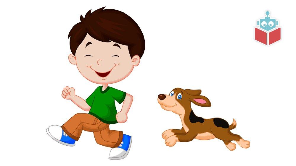 Pling er en dreng, og Sing er en hund.