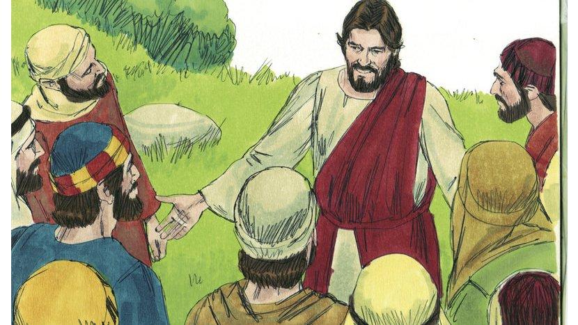 Jesus fortalte historier, der skulle forklare forskellige ting. Disse historier kaldes for lignelser.