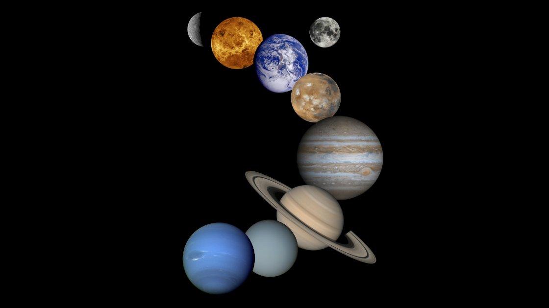 Kender du alle planeterne i solsystemet?