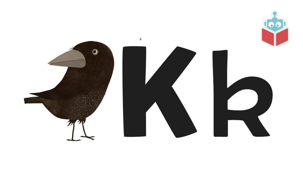"""Ordet """"krage"""" starter med k."""