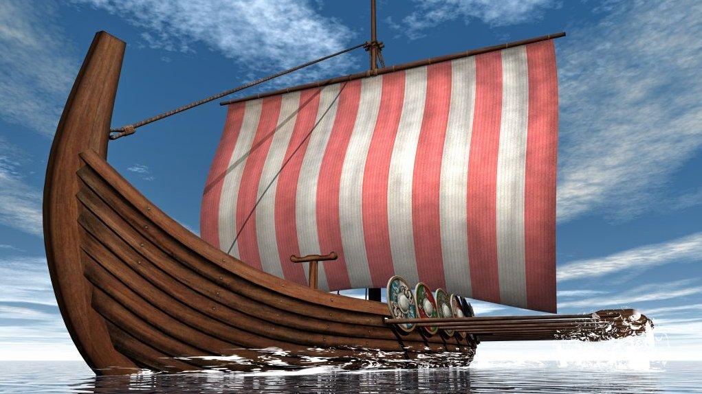 Vikingerne sejlede rundt i store dele af verden.