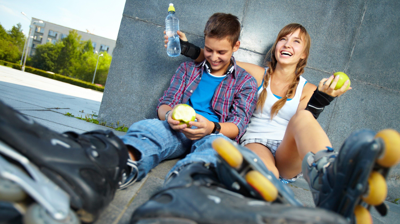 Sundhed er mere end bare kost og motion. Det handler også om at være glad og have gode venskaber.