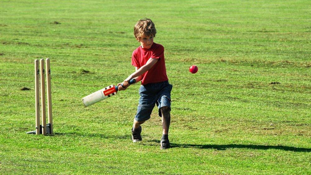 I cricket skal batteren beskytte gærdet fra at blive ramt.