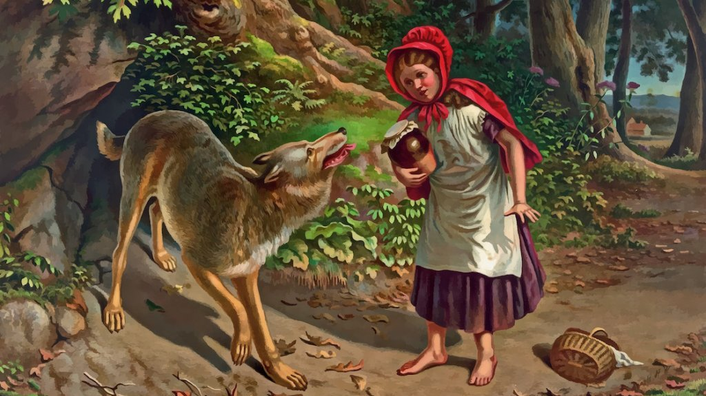 Billedet illustrerer et kendt folkeeventyr. Kan du huske fortællingen?