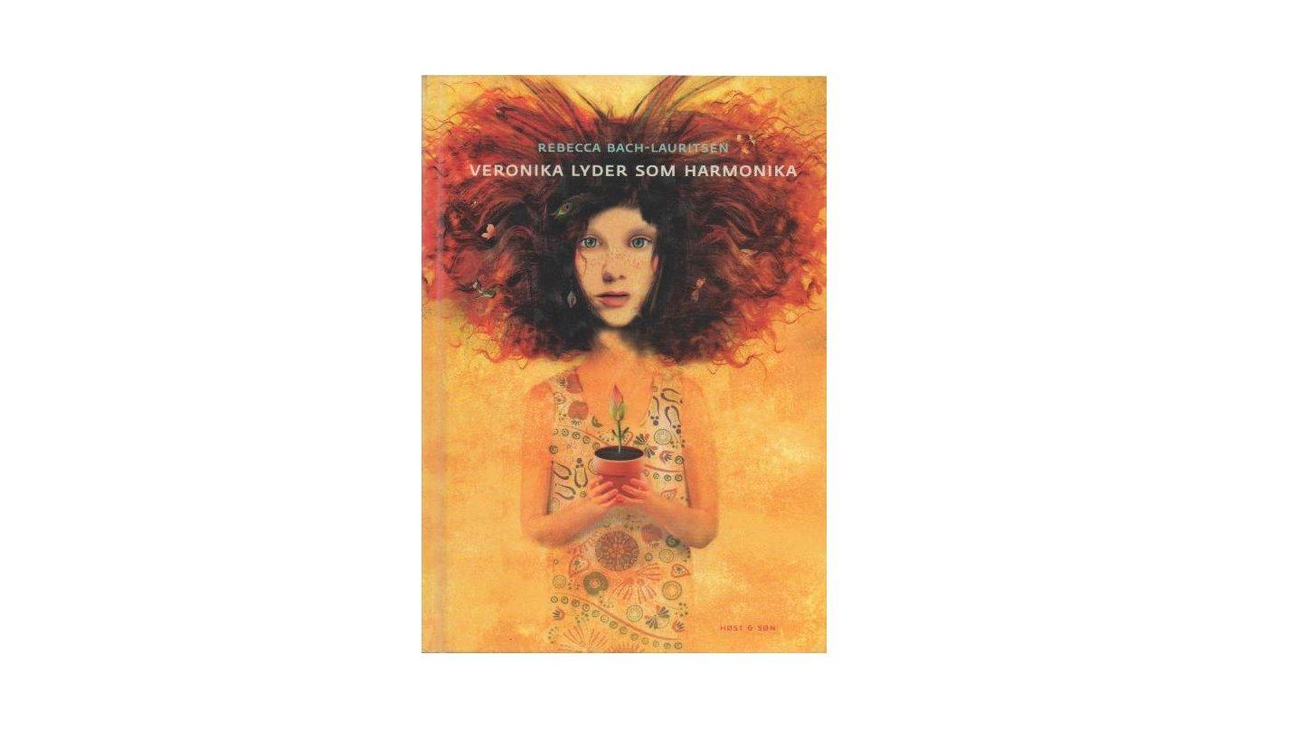 """""""Veronika lyder som harmonika"""" handler om Veronika, der flytter rigtig meget rundt med sin mor og sin søster."""