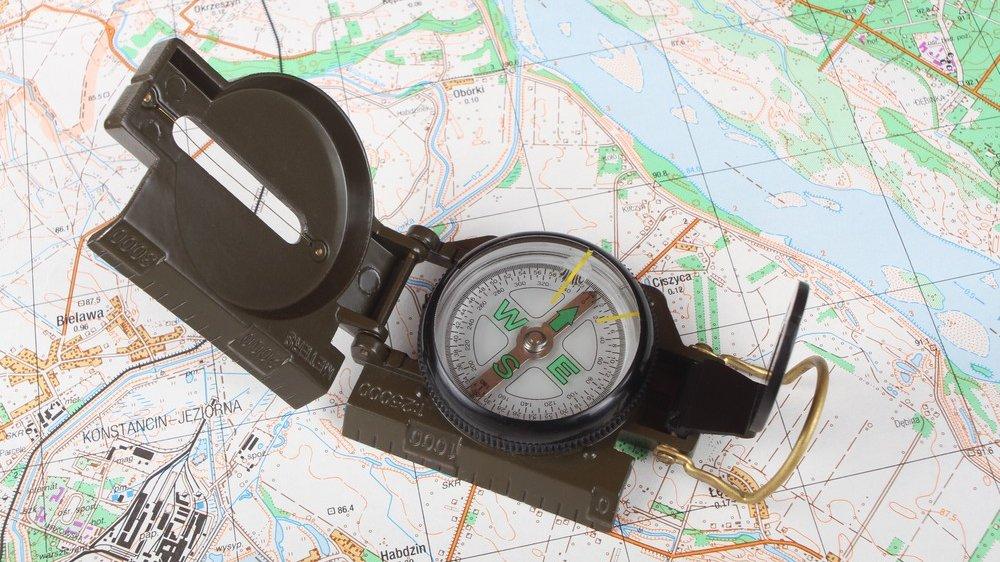 I forløbet arbejdes der blandt andet med kort og kompas.