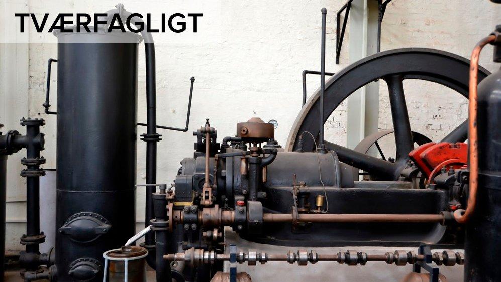 Dampmaskinen blev opfundet i England i starten af 1700-tallet. Det var en opfindelse, der gjorde en forskel. Dampmaskinen blev brugt i tog, og på fabrikkerne gjorde den fx arbejdet nemmere, så varer kunne laves hurtigere og billigere.