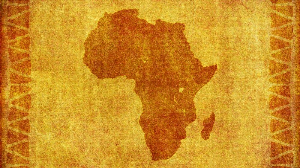 """Romanen """"Eksil"""" foregår i Afrika."""