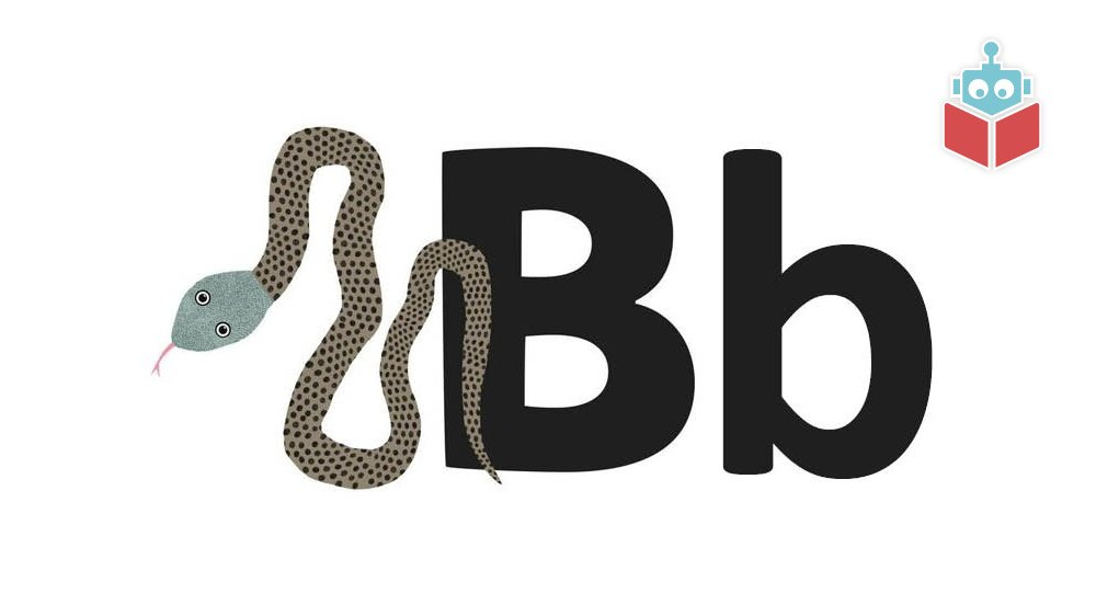 """Ordet """"boa"""" starter med b."""