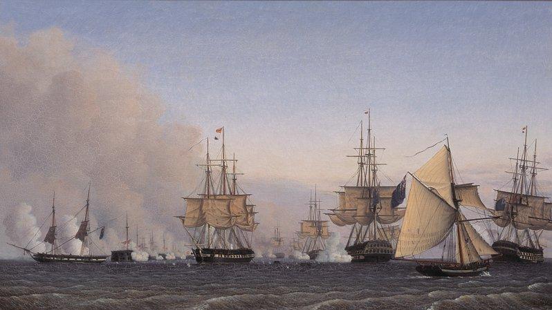 I 1801 udkæmpede Danmark og England et søslag ud for København, der blev kendt som Slaget på Reden.