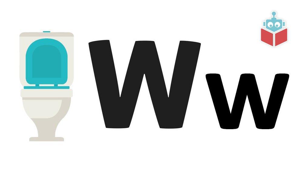 Wc starter med w.