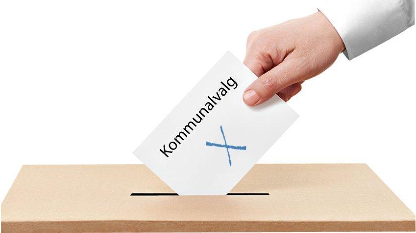 Der afholdes kommunalvalg i Danmark hvert fjerde år.