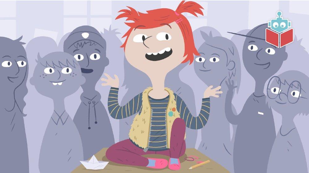 Der starter en ny pige i Fies klasse.