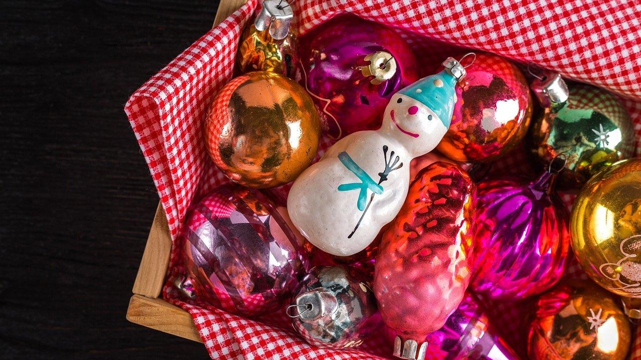 Der findes meget julepynt. Hvilken slags julepynt kender du?