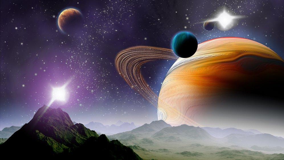 Er der mon liv på Solsystemets andre planeter, og kan mennesket besøge de planeter?
