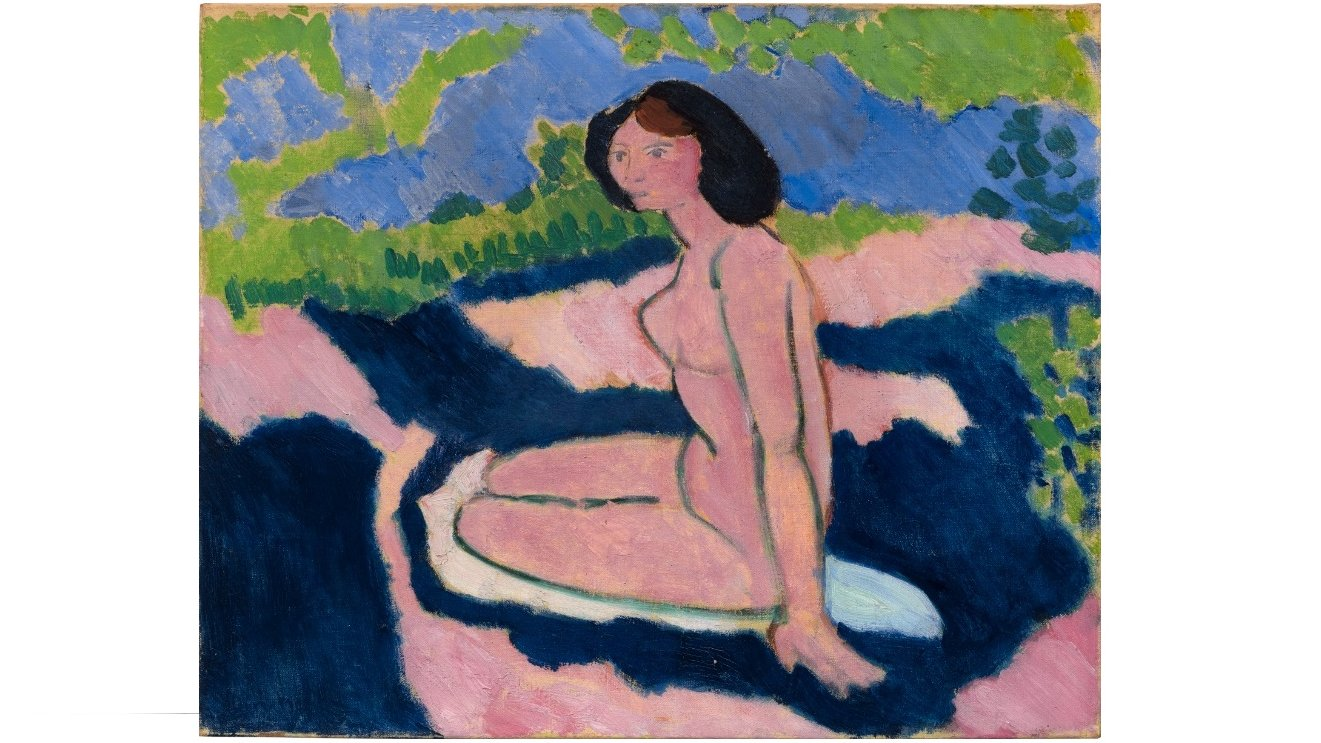 Ekspressionistisk maleri af den franske maler Henri Matisse.