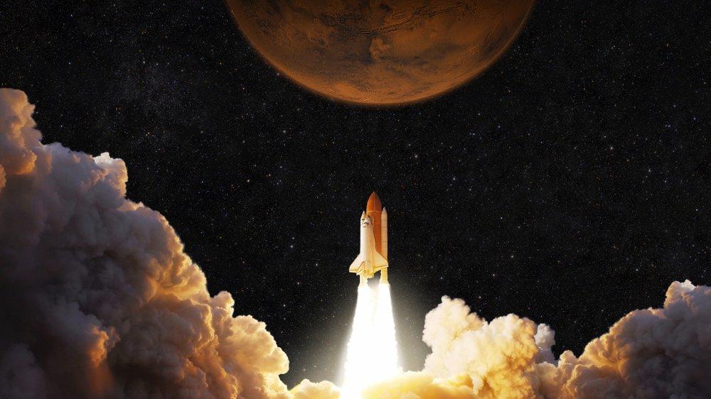 Tag med på en spændende rejse til planeten Mars.
