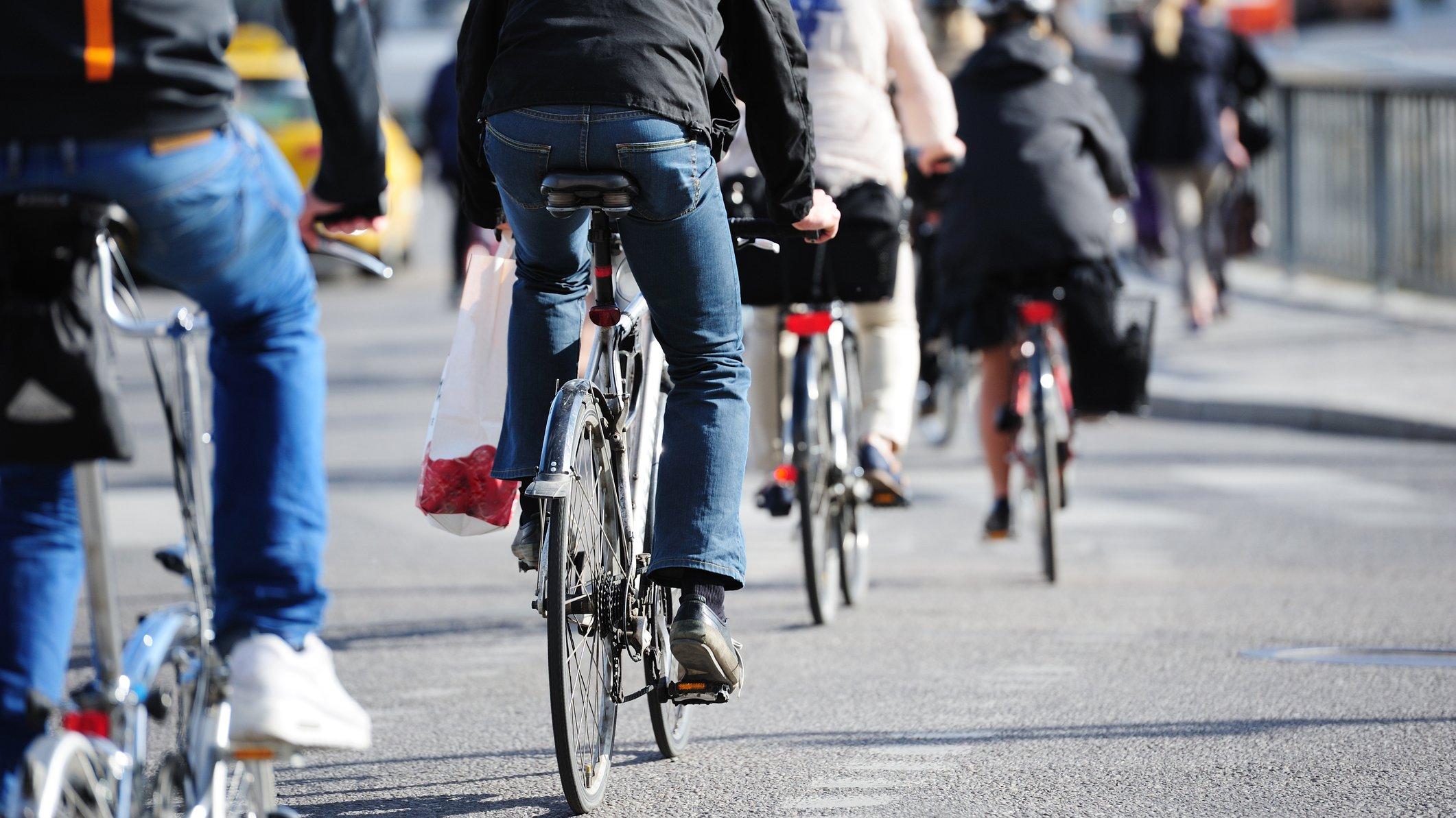 Cyklen er et godt eksempel på, hvordan man kan vælge en bæredygtig løsning på sin transport.