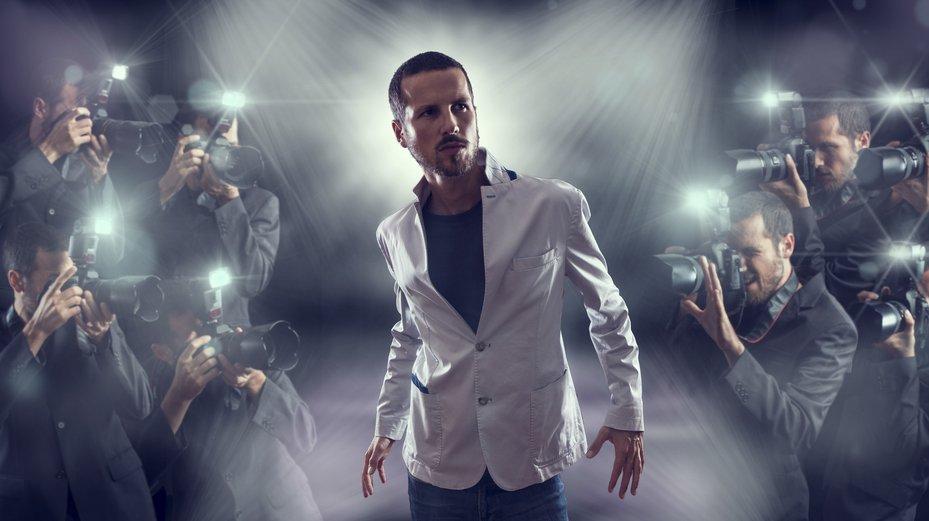 Die Promis der Musikwelt baden oft im Blitzlicht.