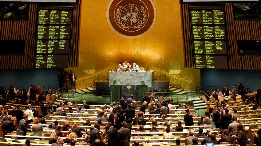 På arbejde i FN. Hvilke beslutninger træffer de der?
