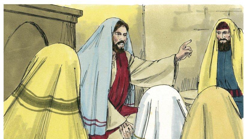 Jesus fortalte mange historier. Nogle af hans historier kaldes for lignelser.