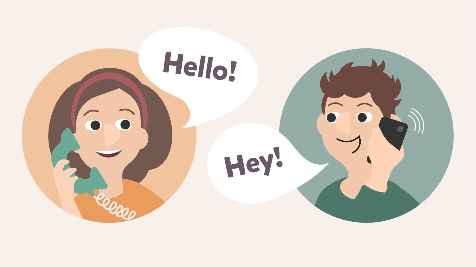 Learn how to say hello!