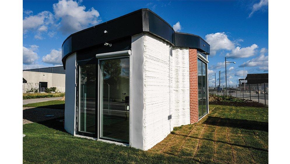 Europas første 3D-printede hus står i København.