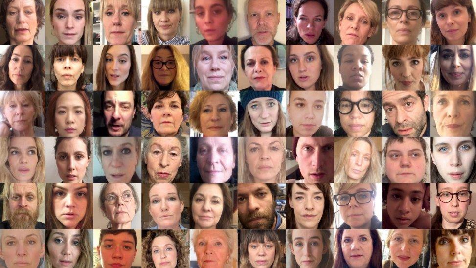 """""""#MeToo – bryd tabuet"""" er en kampagne, hvor 100 danske skuespillere genfortæller andre personers #MeToo-oplevelser."""