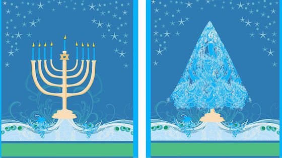 Merry Christmas and Happy Hanukkah!