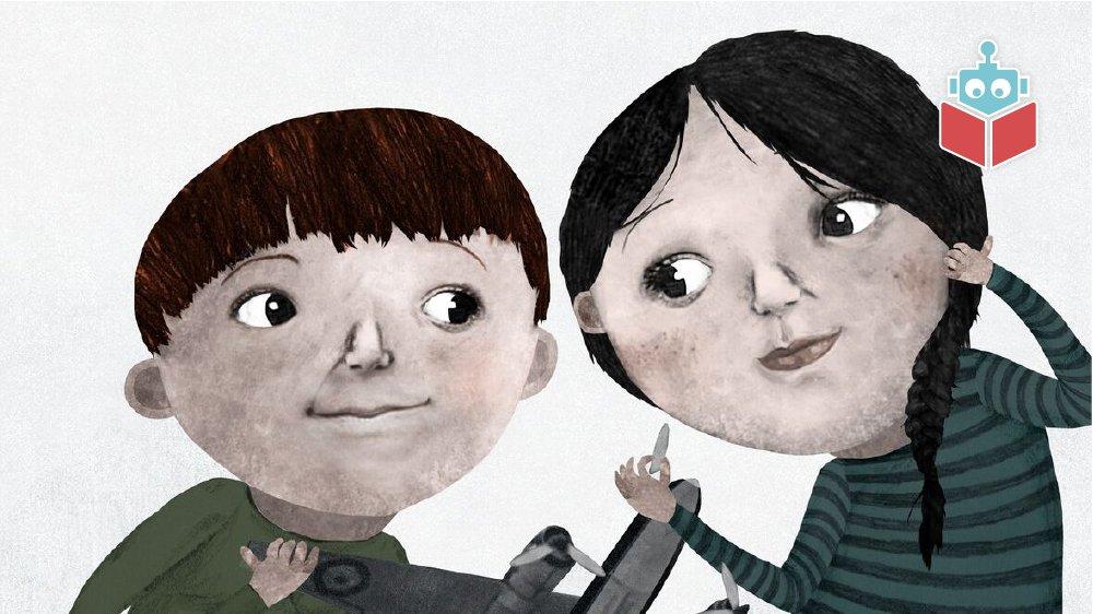 Per og Nille er verdens bedste venner.