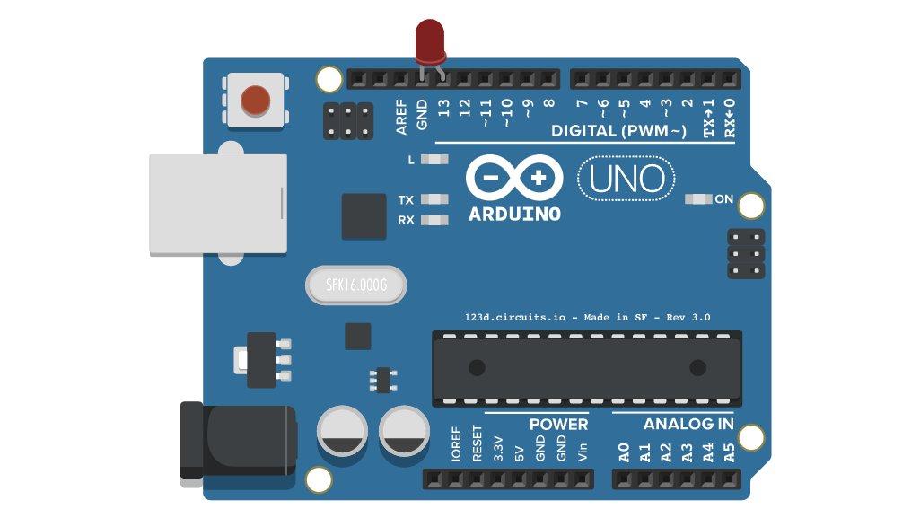 En Arduino er en slags lille robot. Du kan programmere den til at styre dit julelys eller vande dine haveplanter og meget mere.