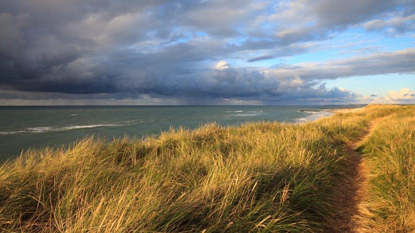Det trækker op til storm. Er det godt eller skidt for et område som Vadehavet?