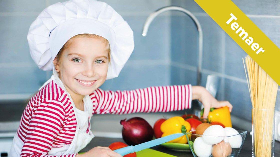 Lær om sund mad og en sund krop.