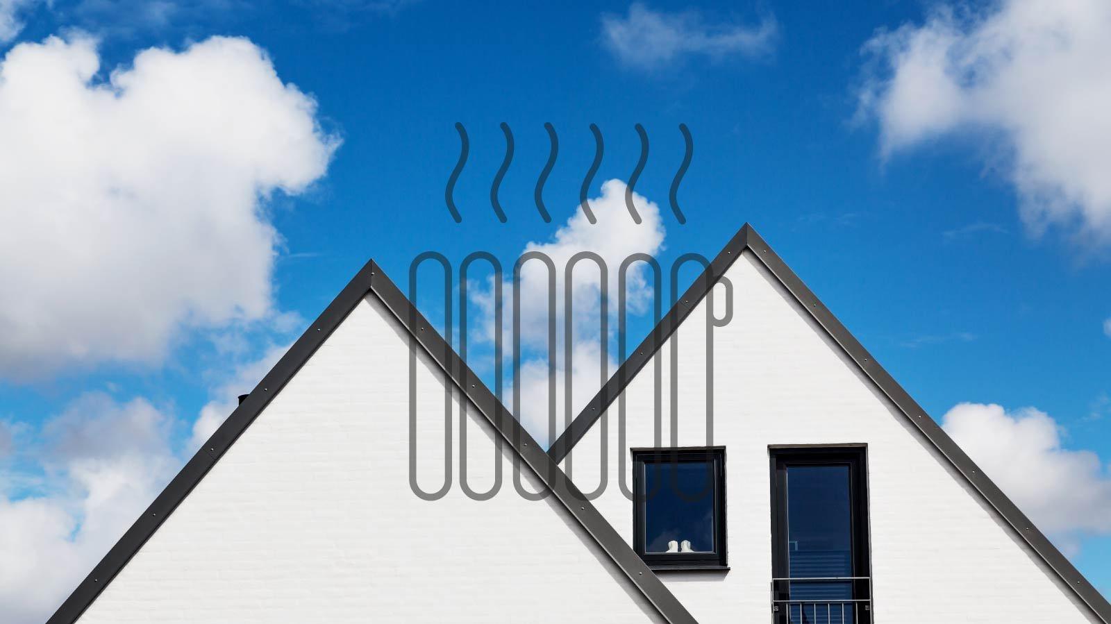 En tændt radiator. Hvad har den med fjernvarme at gøre?